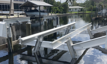 Boat Lift Cradle Replacement