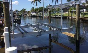 Pontoon Bunk Installation