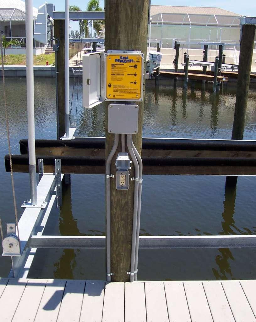 GEM wireless boat lift remote control